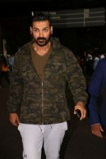 John Abraham Spotted At International Airport on 9th June 2017 (3)_593aaced595d0.JPG