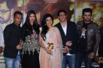 Aishwarya Rai Bachchan, Vikram Phadnis, Mukta Barve, Shiamak Dawar, Manish Paul during the music launch of marathi film Hrudayantar in Mumbai, India on June 10, 2017 (108)_593cbe109e6a9.JPG