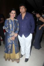 Madhushree with husband Robby Badal at the Star Studded Grandiose Launch of Cinebuster Magazine On 10th June 2017 (2)_593ce390cb06c.JPG