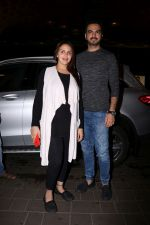 Esha Deol with her husband Bharat Takhtani at the airport during early hours of 15th June 2017 (5)_5942075a232ff.JPG