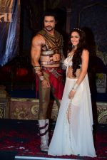 Madhurima Tuli, Vishal Aditya during launch of serial Chandrakanta in Mumbai on June 14, 2017 (5)_594201c7e6c88.JPG
