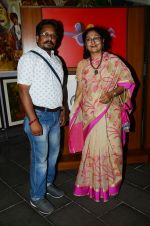 Artists Paramesh Paul and Nayana Kanodia at the opening preview of Osian_s The Greatest Indian Show on Earth 2 - Vintage Film Memorabilia, Publicity Materials & Arts Auction_594534c2ceb83.JPG