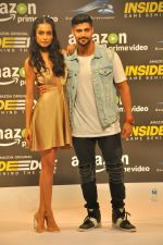 Sarah Jane Dias,Tanuj Virwani at Trailer Launch Of Indiai's 1st Amazon Prime Video Original Series Inside Edge on 16th June 2017