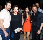 Anil Kapoor, Farah Khan, Suhana Khan, Shahrukh Khan at the Grand Opening Party Of Arth Restaurant on 18th June 2017 (13)_5947a61034f7d.jpg