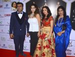 Vinod Ahlawat, Tanaz Irani, Onam ahlawat and sangeeta Bhaskar at the Grand Finale of Dellywood 2017 on 30th June 2017