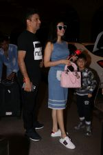 Divya Khosla Kumar & Bhushan Kumar Spotted At Airport on 1st July 2017 (1)_595859c7c522f.JPG