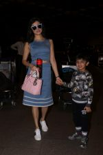 Divya Khosla Kumar & Bhushan Kumar Spotted At Airport on 1st July 2017 (5)_595859d6f1b4a.JPG