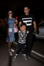 Divya Khosla Kumar & Bhushan Kumar Spotted At Airport on 1st July 2017 (6)_595859dba92d8.JPG