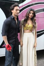 Tiger Shroff, Nidhhi Agerwal spotted promoting Munna Michael in Filmistaan on 10th July 2017