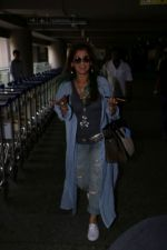Dimple Kapadia spotted at the Airport on 10th July 2017