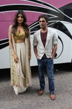 Nawazuddin Siddiqui, Nidhhi Agerwal spotted promoting Munna Michael in Filmistaan on 10th July 2017