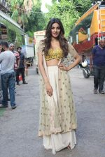Nidhhi Agerwal spotted promoting Munna Michael in Filmistaan on 10th July 2017