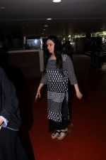 Padmini Kolhapure spotted at the Airport on 10th July 2017