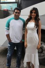 Sabbir Khan, Nidhhi Agerwal spotted promoting Munna Michael in Filmistaan on 10th July 2017