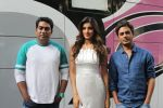 Sabbir Khan, Nidhhi Agerwal, Nawazuddin Siddiqui spotted promoting Munna Michael in Filmistaan on 10th July 2017