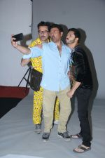 Bobby Deol, Sunny Deol and Shreyas Talpade were spotted shooting for a promotional photo shoot for their upcoming film Poster Boys in Mehboob Studio on 17th July 2017 (1)_596d79b4d94c0.JPG