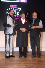 Shyam Benegal, Shatrughan Sinha, Subhash Ghai at the Celebration Of Whistling Woods International 10th Convocation Ceremony on 18th July 2017