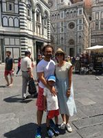 Aamir Khan spends time with family on a vacation in Italy on 20th July 2017