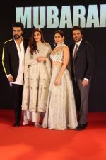 Arjun Kapoor, Anil Kapoor, Ileana D_Cruz, Athiya Shetty at Sangeet Ceremony Of Film Mubarakan on 20th July 2017
