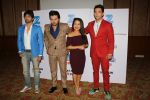 Neha Kakkar, Himesh Reshammiya, Aditya Narayan & Javed Ali at the Press conference of Sa Re Ga Ma Pa Li_l Champs on 21st July 2017  (63)_5972fde176236.JPG