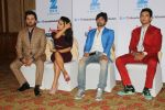Neha Kakkar, Himesh Reshammiya, Aditya Narayan & Javed Ali at the Press conference of Sa Re Ga Ma Pa Li_l Champs on 21st July 2017  (69)_5972fe53d5a97.JPG
