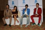 Neha Kakkar, Himesh Reshammiya, Aditya Narayan & Javed Ali at the Press conference of Sa Re Ga Ma Pa Li_l Champs on 21st July 2017  (72)_5972fde3181f8.JPG