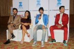 Neha Kakkar, Himesh Reshammiya, Aditya Narayan & Javed Ali at the Press conference of Sa Re Ga Ma Pa Li_l Champs on 21st July 2017  (76)_5972fe5578042.JPG