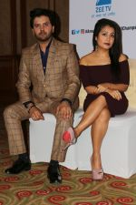 Neha Kakkar, Javed Ali at the Press conference of Sa Re Ga Ma Pa Li_l Champs on 21st July 2017  (57)_5972fe2415aeb.JPG