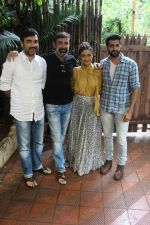 Ragini Khanna,Akshay Oberoi, Pankaj Tripathi, Shanker Raman promotes for Film Gurgaon on 21st July 2017 (40)_597308fded5c2.JPG