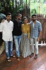 Ragini Khanna,Akshay Oberoi, Pankaj Tripathi, Shanker Raman promotes for Film Gurgaon on 21st July 2017
