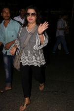 Farah Khan Spotted At Airport on 25th July 2017