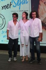 Shah Rukh Khan, Anushka Sharma, Imtiaz Ali at the Song Launch Of Film Jab Harry Met Sejal on 26th July 2017 (41)_5979679bc9644.JPG