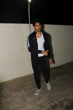 Aahan Shetty at the Special Screening Of Film Mubarakan on 28th July 2017
