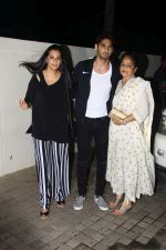 Mana Shetty, Aahan Shetty at the Special Screening Of Film Mubarakan on 28th July 2017