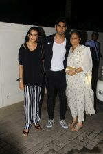 Mana Shetty, Aahan Shetty at the Special Screening Of Film Mubarakan on 28th July 2017 (86)_597c7999d7864.JPG