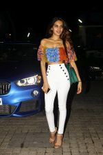 nidhhi agerwal at the Special Screening Of Film Mubarakan on 28th July 2017