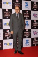 Anupam Kher At Red Carpet Of Big Zee Entertainment Awards 2017 on 29th July 2017