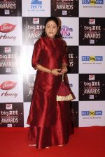 Aruna Irani At Red Carpet Of Big Zee Entertainment Awards 2017 on 29th July 2017