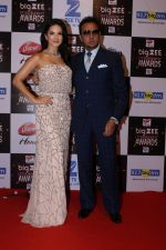 Gulshan Grover, Sunny Leone At Red Carpet Of Big Zee Entertainment Awards 2017 on 29th July 2017 (88)_597d911472cca.JPG