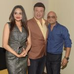 Madhoo Shah with Anu Malik and Raja Ram Mukerji at the special screening of the film SAB THEEK HAIN on 27th July 2017