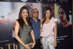 Madhoo Shah with Raja Ram Mukerji and Neetu Chandra at the special screening of the film SAB THEEK HAIN on 27th July 2017