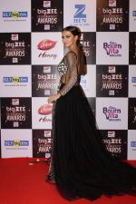 Sana Khan At Red Carpet Of Big Zee Entertainment Awards 2017 on 29th July 2017
