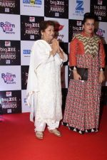 Saroj Khan At Red Carpet Of Big Zee Entertainment Awards 2017 on 29th July 2017