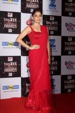 Sonalee Kulkarni At Red Carpet Of Big Zee Entertainment Awards 2017 on 29th July 2017