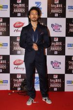 Tiger Shroff At Red Carpet Of Big Zee Entertainment Awards 2017 on 29th July 2017