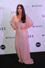 Bhumi Pednekar at The Red Carpet Of Vogue Beauty Awards 2017 on 2nd Aug 2017