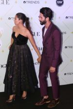 Mira Rajput, Shahid Kapoor at The Red Carpet Of Vogue Beauty Awards 2017 on 2nd Aug 2017