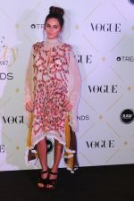 Shibani Dandekar at The Red Carpet Of Vogue Beauty Awards 2017 on 2nd Aug 2017