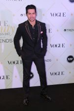Varun Dhawan at The Red Carpet Of Vogue Beauty Awards 2017 on 2nd Aug 2017