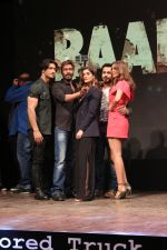 Vidyut Jammwal, Ajay Devgan, Ileana D�Cruz, Esha Gupta, Emraan Hashmi at The Trailer Launch Of Baadshaho on 7th Aug 2017-1 (169)_598aa44e1af98.jpg